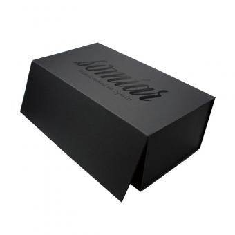 Black Paper Folding Packaging Gift Box