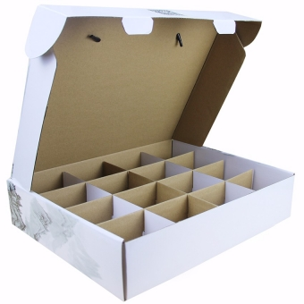 Customized special fruit packaging white corrugated mailer boxes