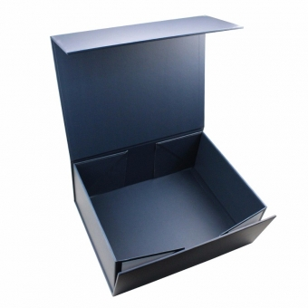Flat Packing Storage Blue Packaging Magnetic Box