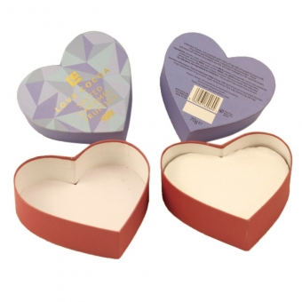 premium cute purple chocolate gift  boxes with lids