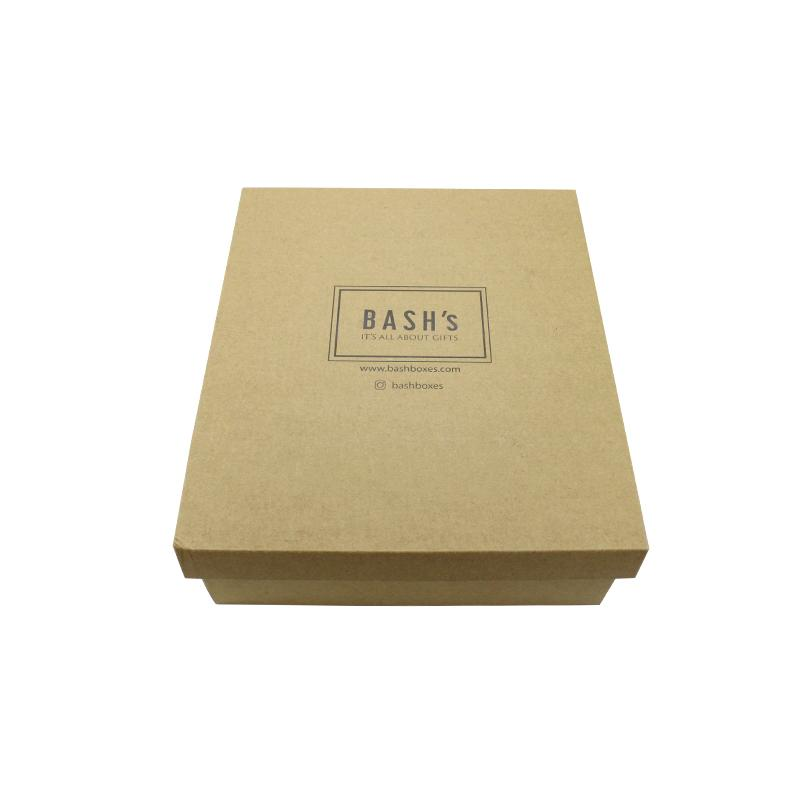 Brown Gift Box With Lid